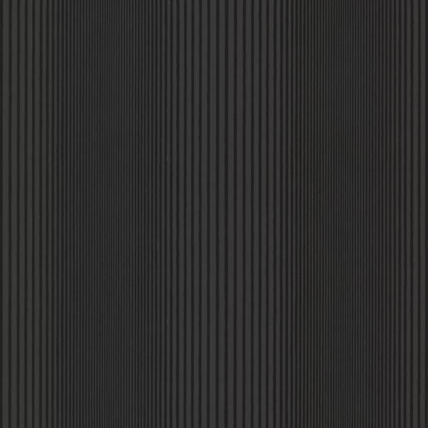 Alpha Black Ombre Stripe Wallpaper
