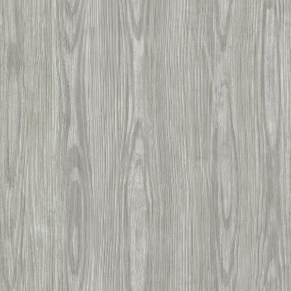 Tanice Grey Faux Wood Texture Wallpaper