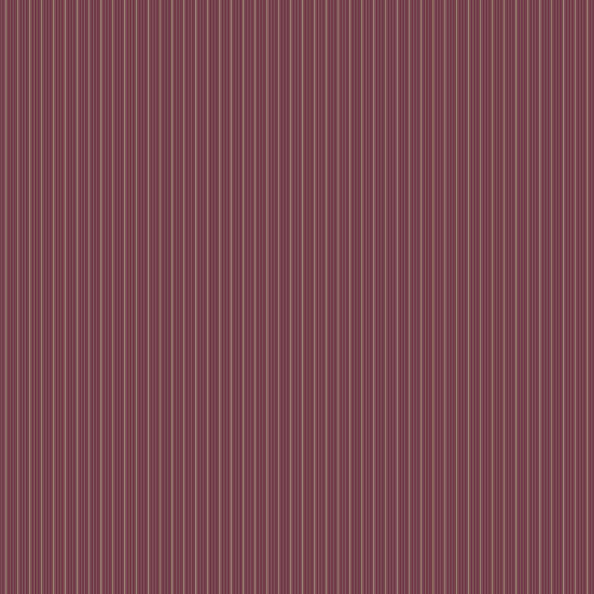 Frideswide Merlot Pinstripe Wallpaper