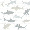 Shark CharadesWallpaper in Neutral
