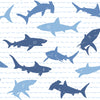 Shark CharadesWallpaper in Blue