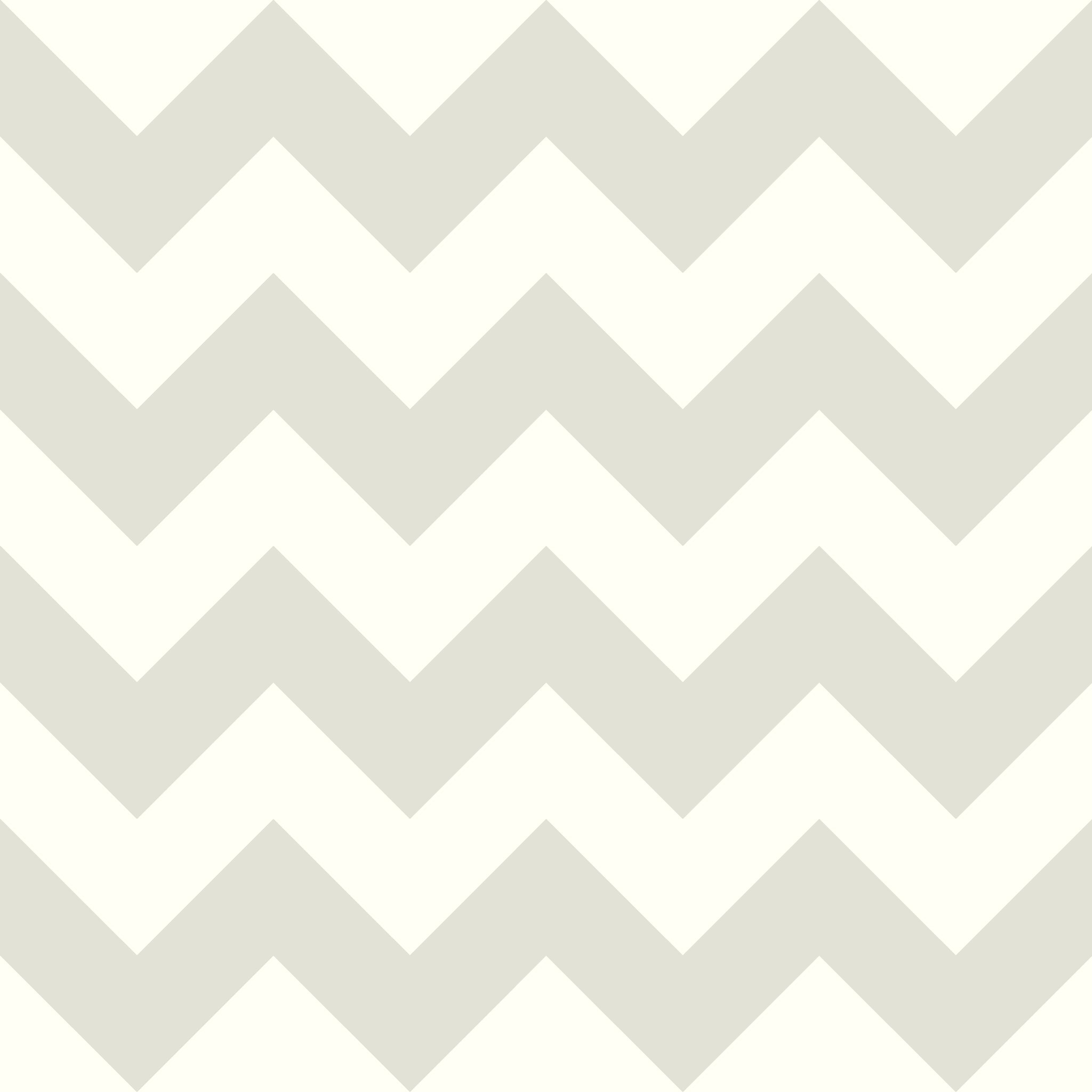 Chevron SidewallWallpaper in Grey