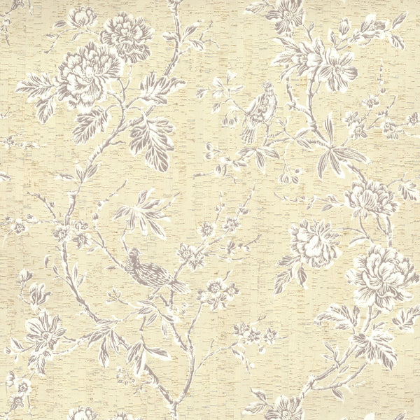 Organic Cork Prints Equinox Wallpaper