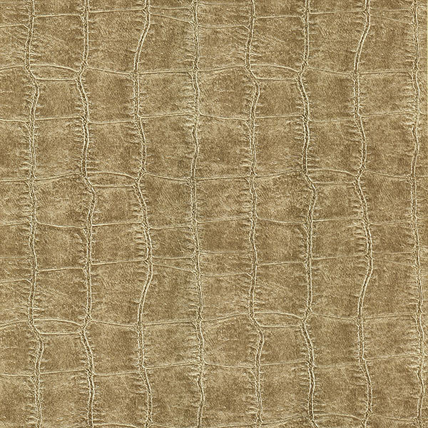 Logan Taupe Croc Texture Wallpaper