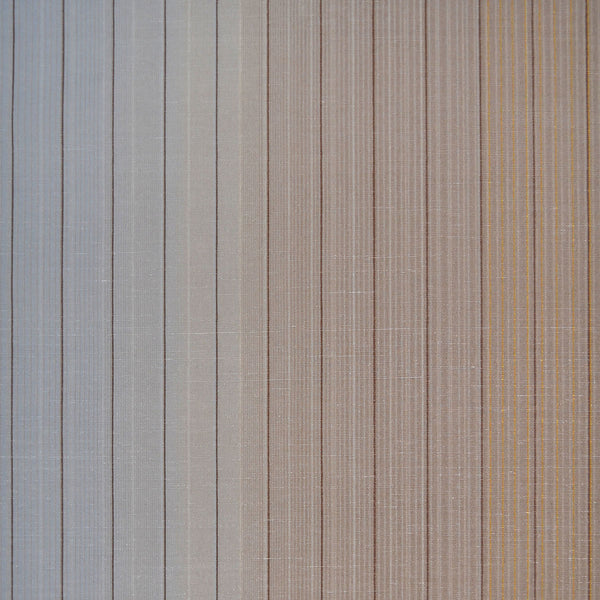 Missoni Home Vertical Stripe Wallpaper - Sepia/Grey in Brown