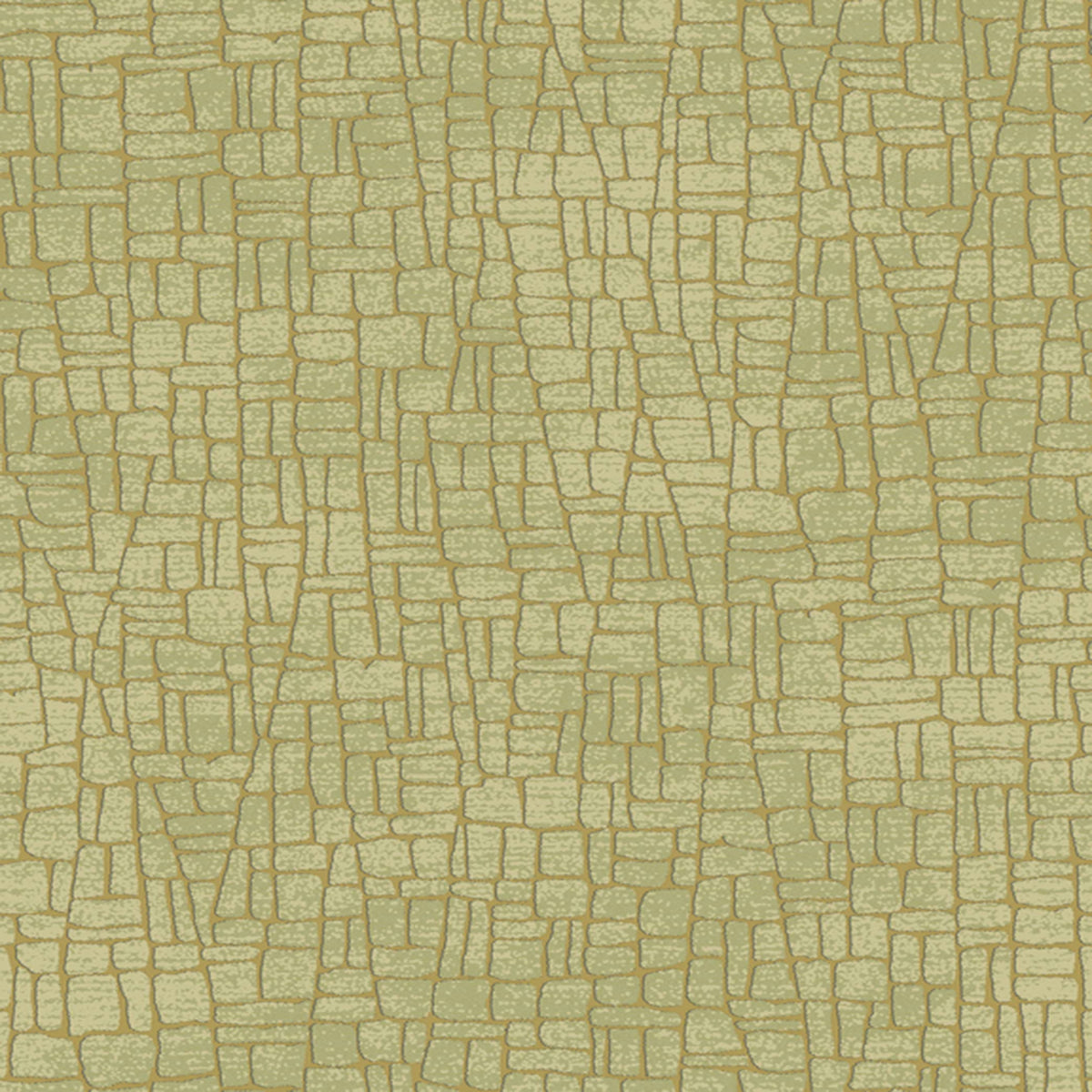 Mixed Metals Butler Stone Wallpaper in Taupe