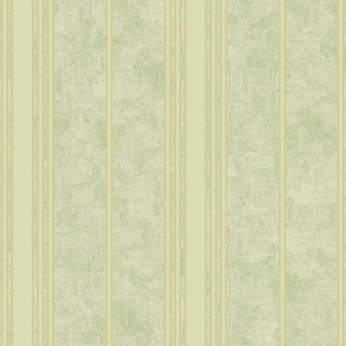 Mixed Metals Channel Stripe Wallpaper in Yellow/gold