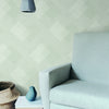 Scandia Plaid Wallpaper in White,Off White