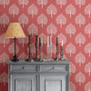 Grove Coral Peel and Stick Wallpaper
