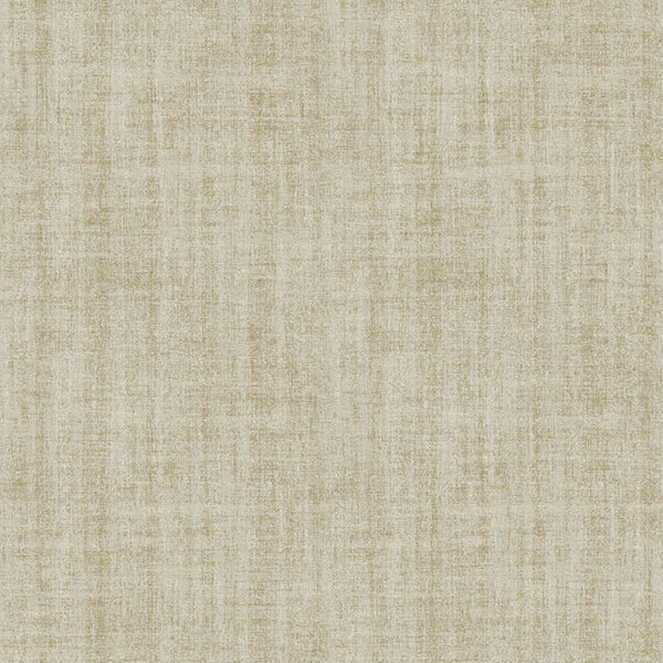 Ramie Linen Gold Texture Peel and Stick Wallpaper