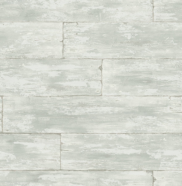 Shipwreck Light Grey Wood Wallpaper