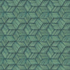 Intertwined Blue Geometric Wallpaper