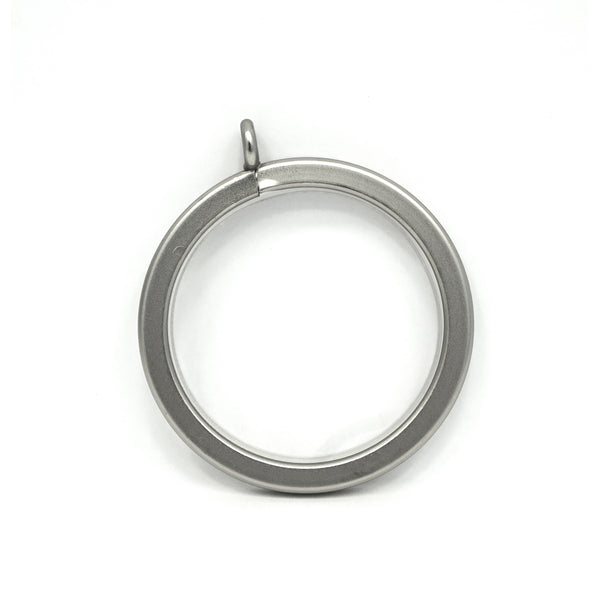 Metal Flat Rings - Antique Pewter