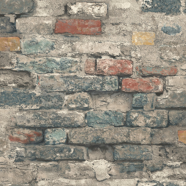 Brick Alley Peel & Stick Wallpaper