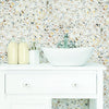 Terrazzo Multi Colored Peel & Stick Wallpaper