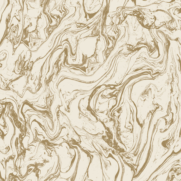 Marble Gold Peel & Stick Wallpaper