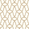Trellis Gold Peel & Stick Wallpaper