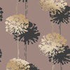 Hamsun Light Brown Dandelion Wallpaper