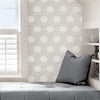 Silver Illusion Self Adhesive Wallpaper