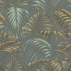 Raja Green Palm Wallpaper