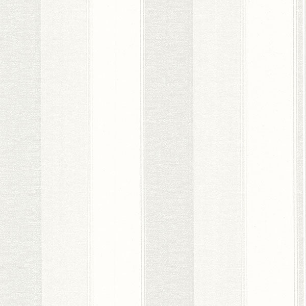 Millinocket Cream Illusion Stripe Wallpaper