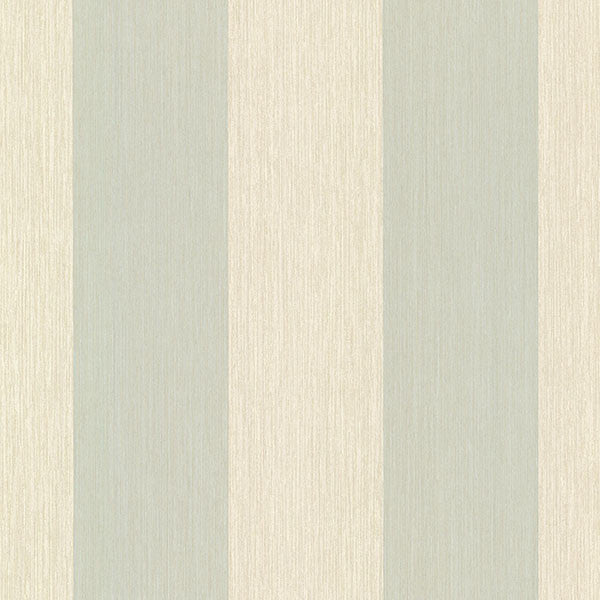 Kittery Aqua Affinity Stria Wallpaper