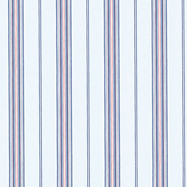 Jonesport Navy Cabin Stripe Wallpaper