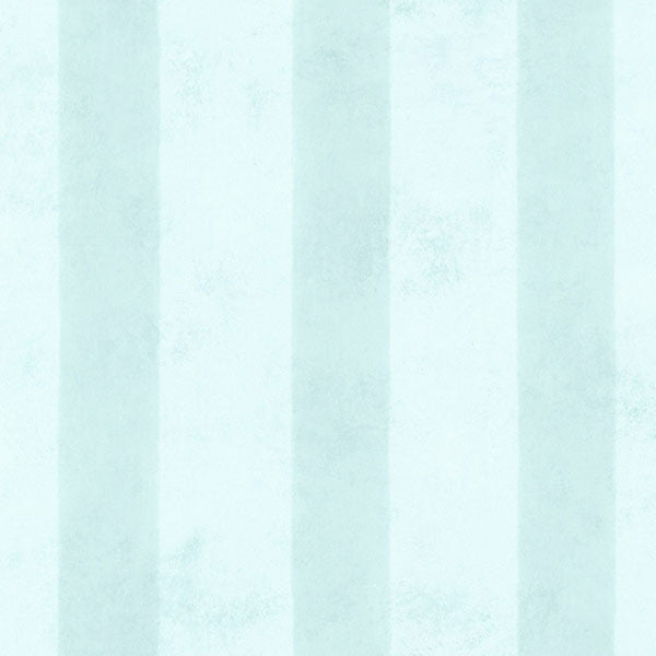Surry Aqua Soft Stripe Wallpaper
