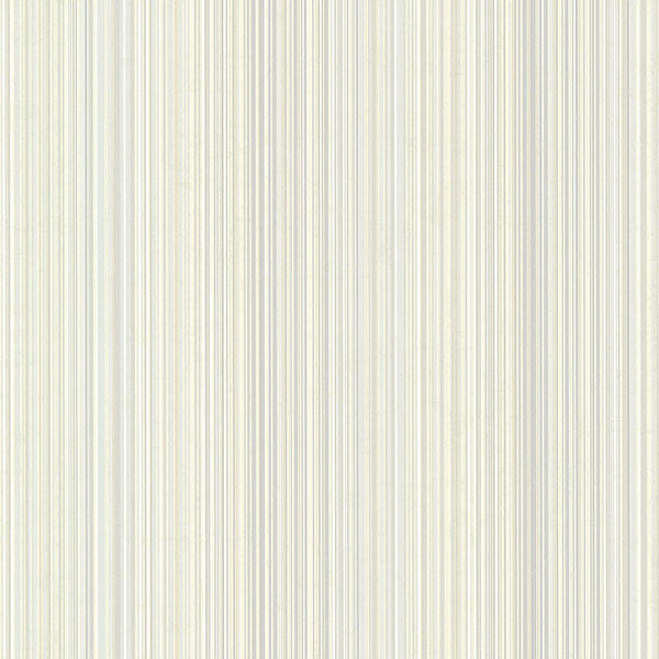 Wells Sky Candy Stripe Wallpaper