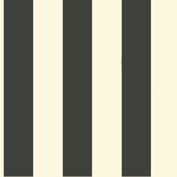 Magnolia Home Awning Stripe Removable Wallpaper in Black