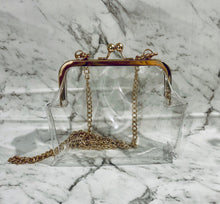 TRANSPARENCY SHOULDER BAG