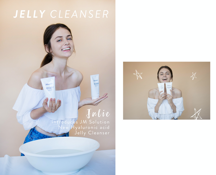 JM Solution JELLY CLEANSER - Perfect for transitioning weather with Julie!
