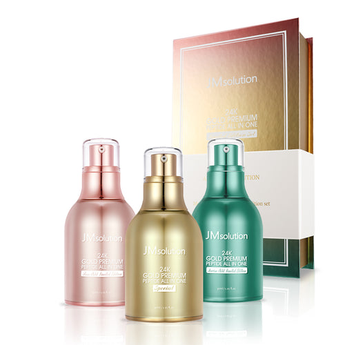 24K GOLD PREMIUM PEPTIDE ALL IN ONE [LIMITED EDITION SET]
