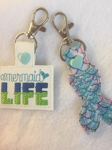 Mermaid Key Fobs