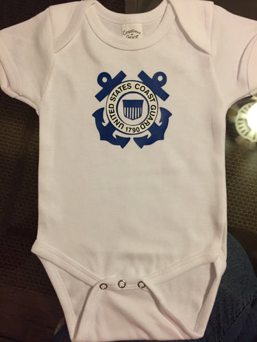 Coast Guard Onesie