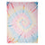 Cacala Helezon Tie Dye Throw Blanket 100% Cotton