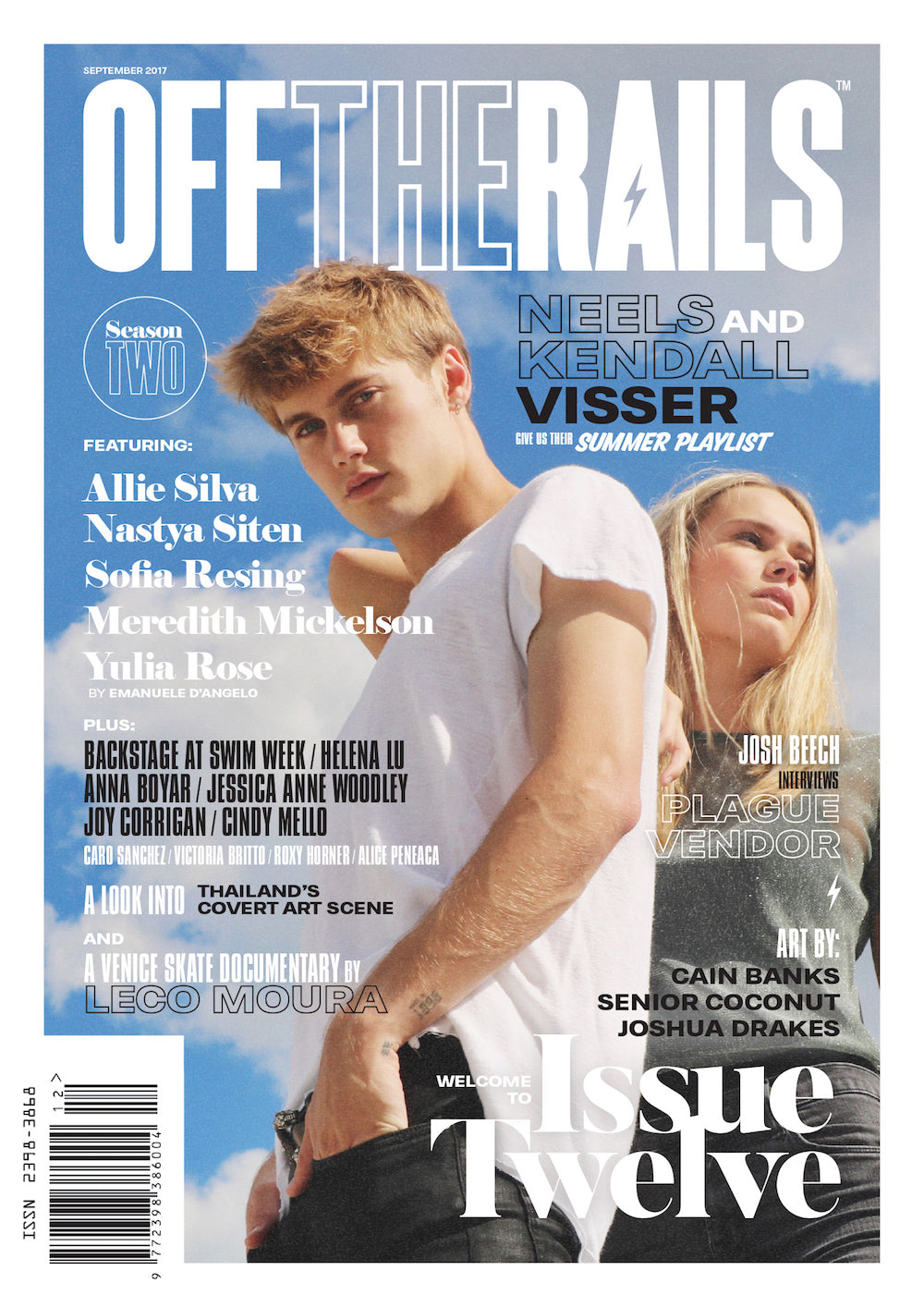 Issue 12 Printed Magazine - 500 Pages, choice of cover + free digital copy