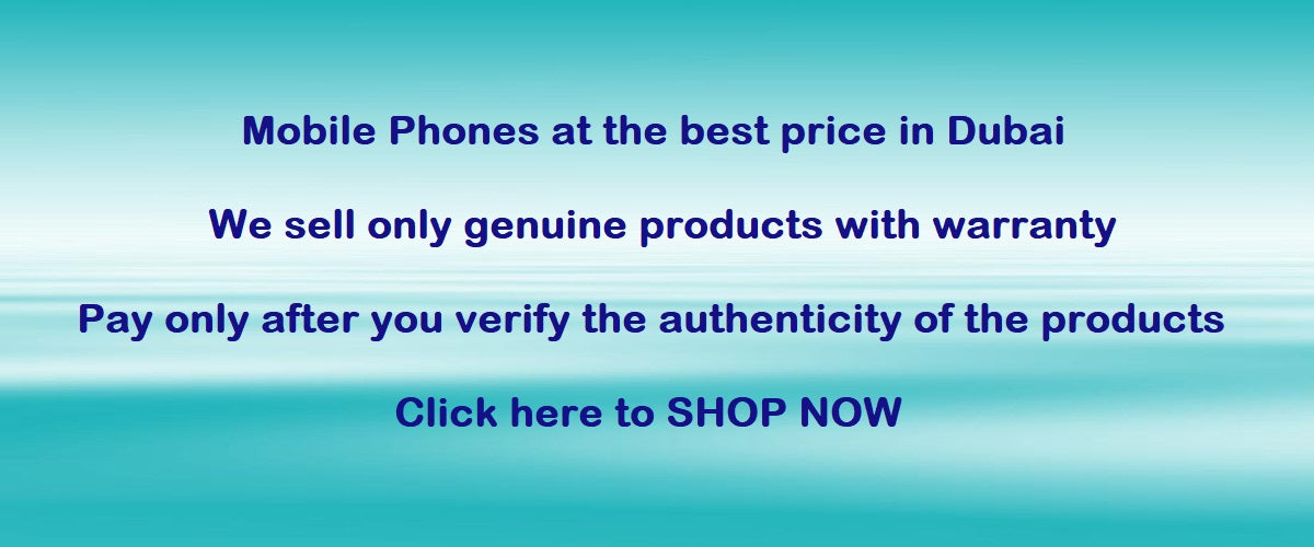 100% Authentic Phones at the best rates in Dubai available online in SPAZA.AE