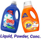 Laundry Powder, Detergent Liquid, Concentrate