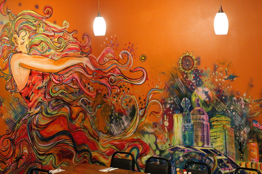 Art at Salena's Mexican Restaurant