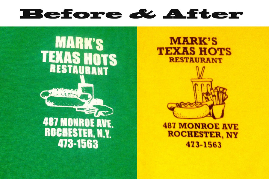 Client Work - Mark's Texas Hots