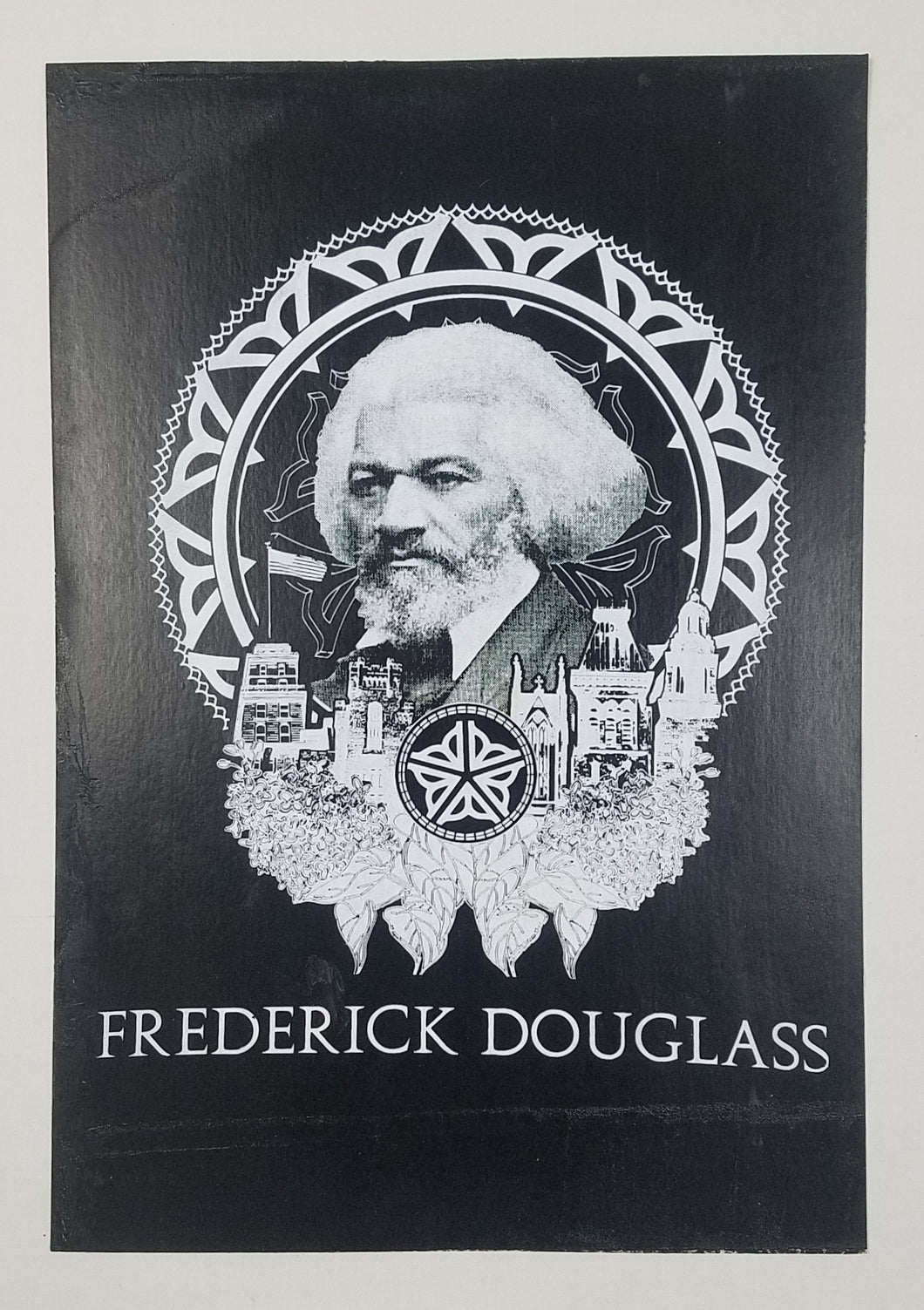 The Frederick Douglass Screen Print Poster 13 X 19
