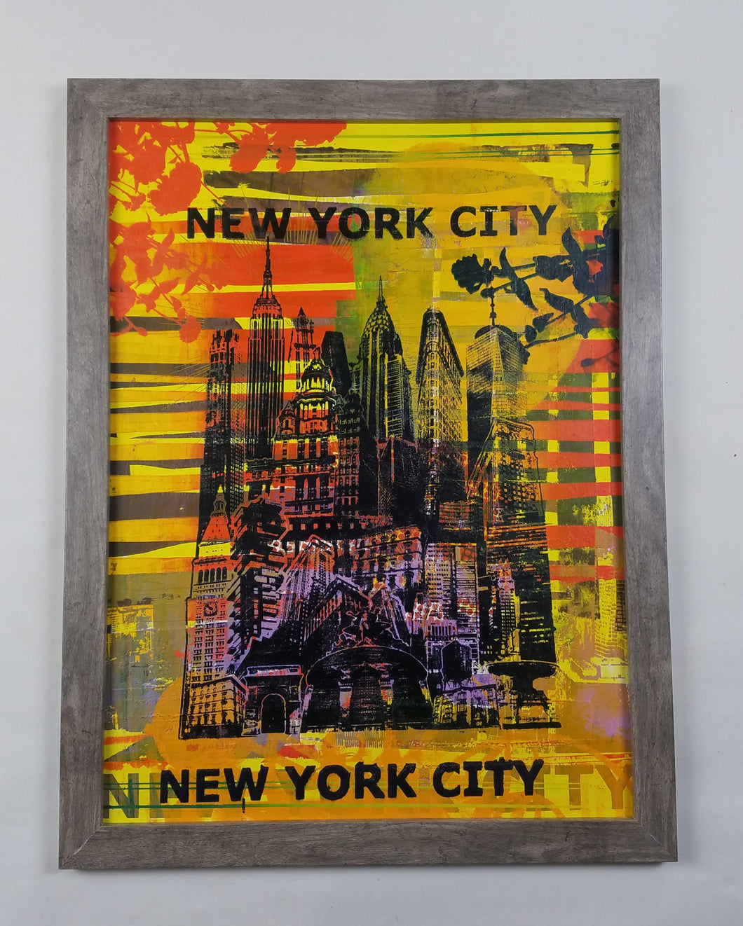 Title: Blooming NYC, Limited 1/1 Framed & Matted 20 x 26