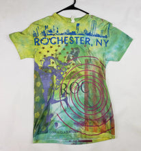 """Roc Green Fields"" Monoprint Size: X-Small T-Shirt"