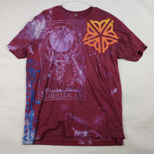 """Blood Moon"" Monoprint Size: XL T-Shirt"