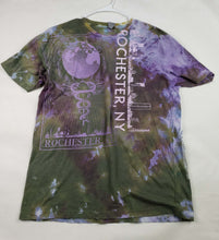 "Bleeding Purple"" Monoprint Size: XL T-Shirt"