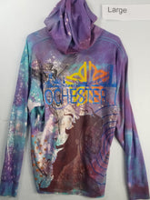 """Night Sky Bloom"" Monoprint Hoddie Size: Large"