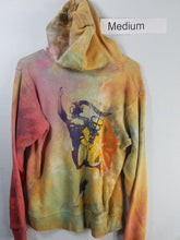 """Pop"" Monoprint Thick Hoodie Size: Medium"