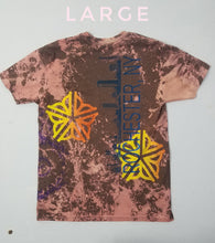 """River Slides"" Monoprint Size: Large T-Shirt"