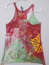 """Run Mercury"" Monoprint Size: Small RacerBack Tank Top"